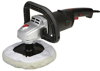 "7"" 120 Volt Variable Speed Polisher & Sander Polish, Sand Large Surfaces Quickly"