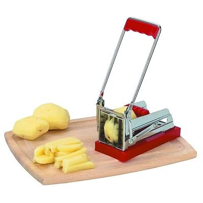 Stainless Steel Blade French Fry Cutter Potato & Vegetable Slicer & Chopper