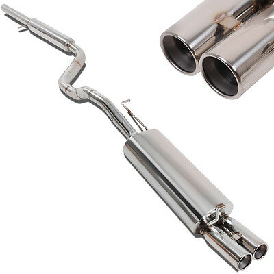 Direnza Stainless Steel Cat Back Exhaust System For Audi A3 1.9 Tdi 1.8T Turbo