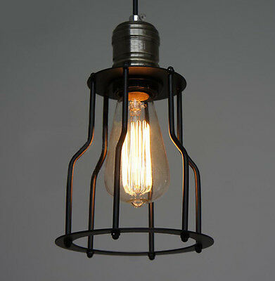 Special Vintage style Industrial Edison ceiling Lamp w/ bulb old fashion light
