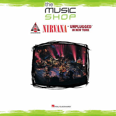 New Nirvana Unplugged in New York Music Book - Guitar Recorded Versions