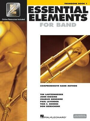 New Essential Elements for Band: Trombone Book 1 - Comprehensive Band Method