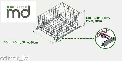 Pull Out Wire Basket Drawer MD Wardrobe Fitting Accessories