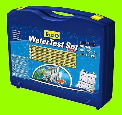 Wassertest Tetra Water Test Set Plus Testkoffer 10 versch.Test für Aquarium