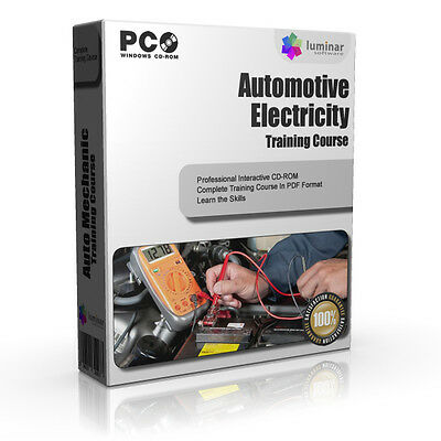 Car Mechanic Basic Electronics Training Course Book CD-ROM