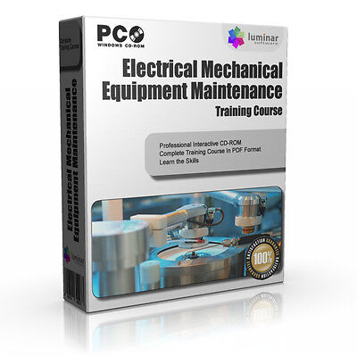 Electrical Mechanical Maintenance Engineering Training Course Guide Manual CD