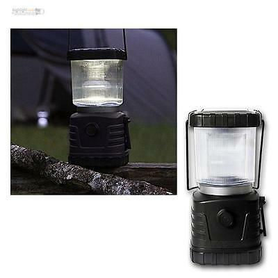 LED Solar Campinglampe 5-30lm dimmbar, mit Dynamo Camping-Laterne Lampe Leuchte