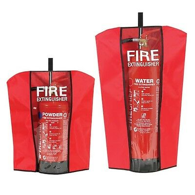 Fire Extinguisher Cover To Fit 1,2,4,3,5,6,9 Ltr Kg Water Co2 Powder Afff Foam
