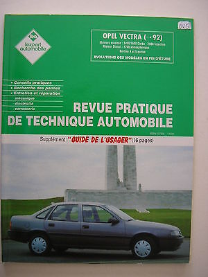 revue technique automobile RTA  Opel  VECTRA avant 1992