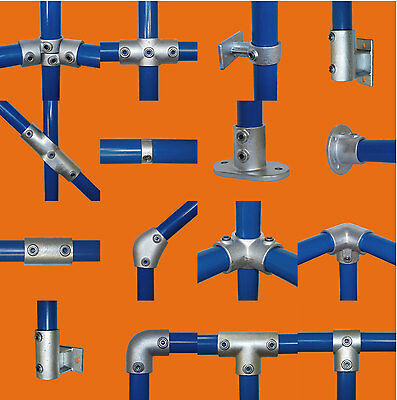 Tube Clamps - Pipe Fittings - Suit Handrail, Scaffold