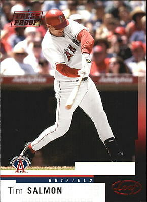 2004 Leaf Press Proofs Red #5 Tim Salmon