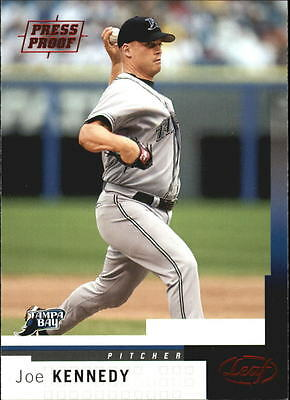 2004 Leaf Press Proofs Red #83 Joe Kennedy