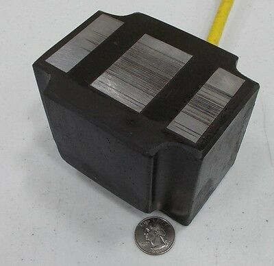 Vibratory Feeder Coil Electromagnet that will lift 946 pounds @24VDC