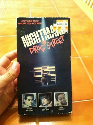 Nightmare on Drug Street VHS  Joleen Lutz, Adam Jeffries Rare And Out Of Print