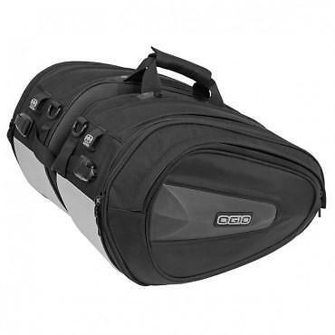 Ogio STEALTH SADDLEBAGS for motorcycles nylon textile strap on panniers