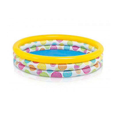 INTEX 3 Ring Planschbecken 147 cm Pool Schwimmbecken Swimmingpool Kinderbecken