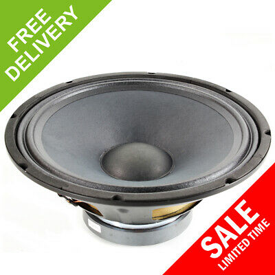 "QTX Sound 12"" Professional Replacement Spare DJ PA Speaker Driver Component 400W"