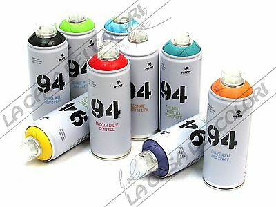 MTN MONTANA 94 - SPRAY PAINT CAN - COLORI A SCELTA - 400 ml - OPACO - AD #1