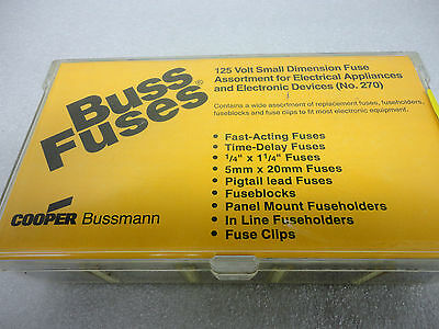 (NEW) Cooper Bussman Buss Fuse Kit No. 270