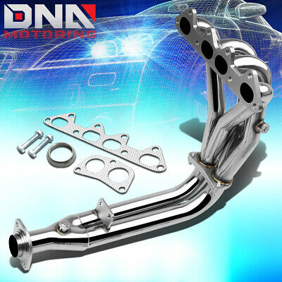 Stainless Steel 4-2-1 Header For 94-97 Honda Accord 2.2 4Cyl Cd Exhaust/manifold