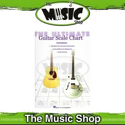 New The Ultimate Guitar Scale Chart Reference Book - Guitar Theory