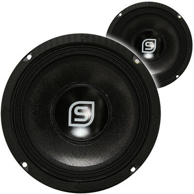 "2x Skytec 6.5"" DJ HiFi Spare Replacement Parts Speaker Drivers Components 500W"