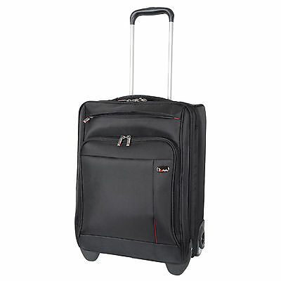 Chicago Trolley Case Laptop Bag Flight Travel Suitcase Air Cabin Hand Luggage
