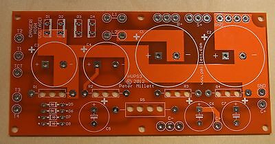 DIY PCB - Power supply board for tube amps with bias supply