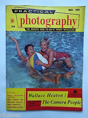Practical Photography Magazine May 1961, Perspective/Oil Painting Photo's...R&L