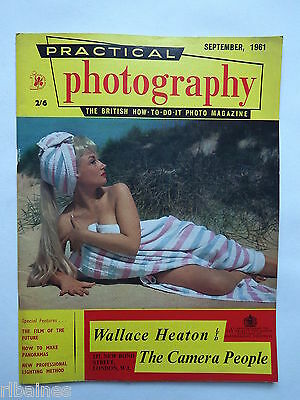 Practical Photography Magazine September 1961, Panoramas/Abstracts...R&L
