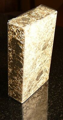 2 Grams Gold Leaf Flake in a Clear Plastic Display Box - Huge Beautiful Flakes