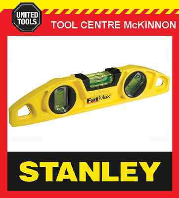 """Stanley Fat Max 9"""" Magnetic Torpedo Level"""