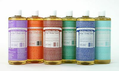 DR. BRONNER`S MAGIC SOAPS - PURE LIQUID CASTILE SOAP 237ml - FREE UK SHIPPING