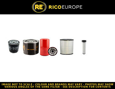 Air, Oil, /& Fuel Primary /& Secondary Filters HITACHI ZX130 FILTER KIT