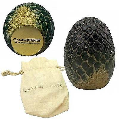 GAME OF THRONES Licensed Green RHAEGAL Dragon EGG Prop REPLICA Paperweight Daeny