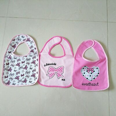Baby Toddler  Bibs For Girls Pack Of 3