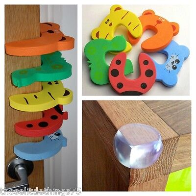 child baby kid door anti fingers trap jammer guard pinch stopper slamming guard