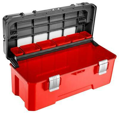 Facom Large Plastic Yet Sturdy And Best Selling Toolbox In Red & Black