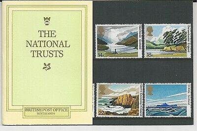 Great Britain # 945-49 British Post Office Mint Stamps-National Trusts