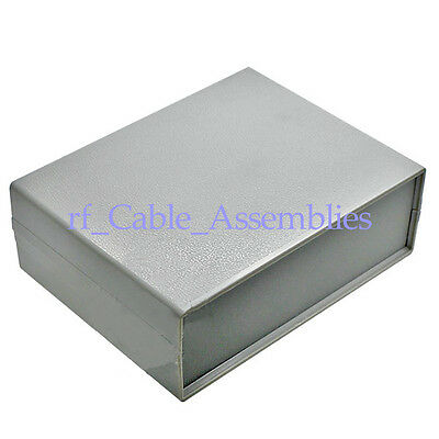 Plastic Electronic Project Box Enclosure Instrument shell case DIY -130*170*55MM