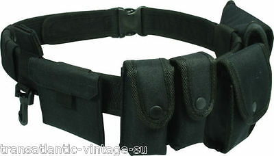 Viper Security Tactical Belt Police Utility Kit & Pouch System Mod Guard Prison