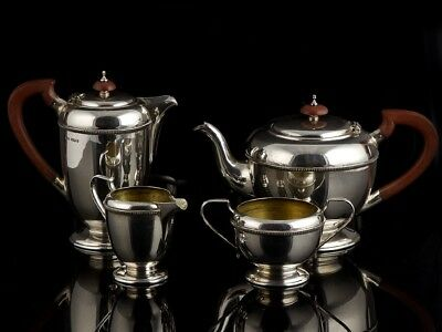 1948 Sheffield Sterling Silver Tea and Coffee Set
