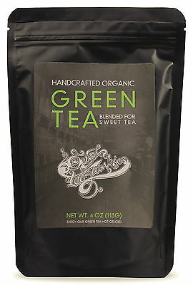 Southern Style Organic Green Tea Premium Handcrafted