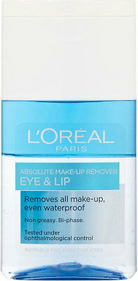 L'Oréal Paris Dermo-Expertise Absolute Eye & Lip Make Up Remover (125ml)