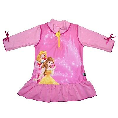 New Disney Princess UV Shirt - Kids Protective Clothing in Sun and Water