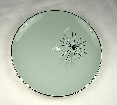 """Franciscan Silver Pine 6.3/8"""" Bread Plate"""