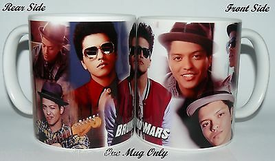 BRUNO MARS - Photo Collage COFFEE/ TEA Mugs / Collectable