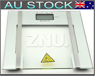 NEW Bathroom Scale Digital Body Fat Weight Water Scales Gym Electronic Glass
