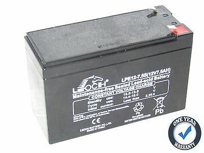 MIDI MOTO QUAD - R6 R1 X1 X2 ELECTRIC SCOOTER BATTERY from LEOCH 7.5Ah