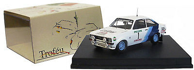 Trofeu 1007 Ford Escort MK II Winner Portugal Rally 1979 - H Mikkola 1/43 Scale